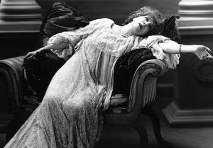 fainting victorian lady